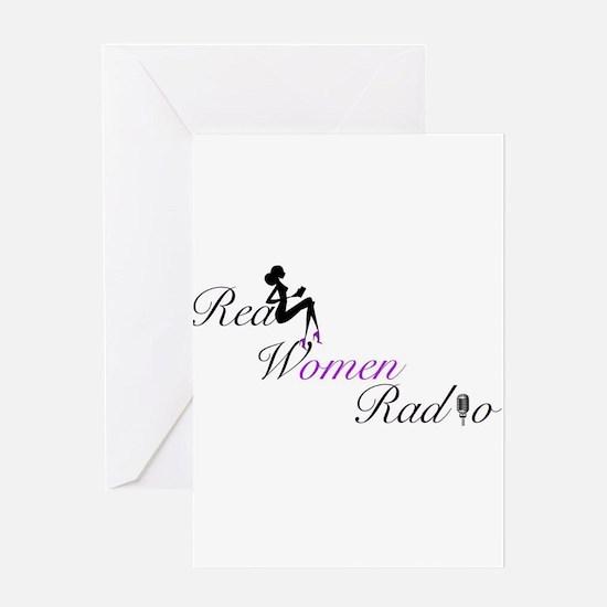 Real Women Radio Greeting Cards