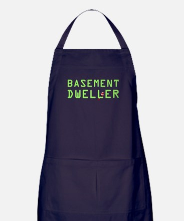 Basement Dweller - Bernie Bird Apron (dark)