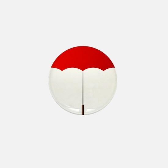 Red Umbrella Mini Button