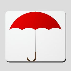 Red Umbrella Mousepad