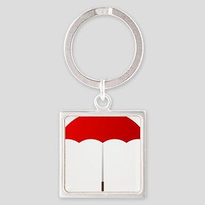 Red Umbrella Keychains
