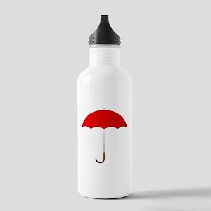 Red Umbrella Water Bottle