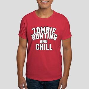 Zombie Hunting Humor Dark T-Shirt