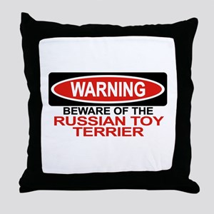 RUSSIAN TOY TERRIER Throw Pillow