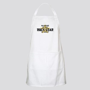 Nurse Rock Star by Night BBQ Apron