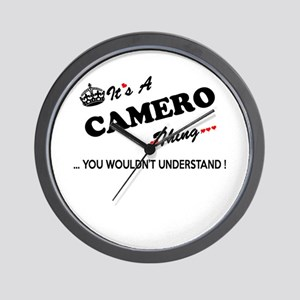 CAMERO thing, you wouldn't understand Wall Clock