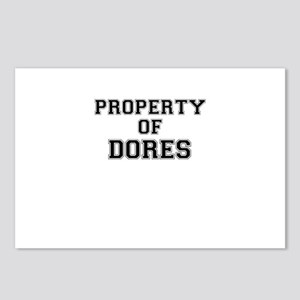 Property of DORES Postcards (Package of 8)