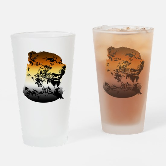 Unique Gay bear Drinking Glass