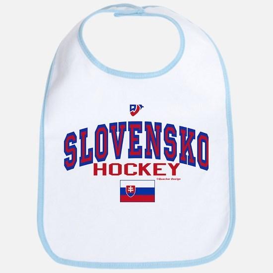 SK Slovakia Slovensko Hockey Bib