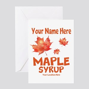 Your Maple Syrup Greeting Cards
