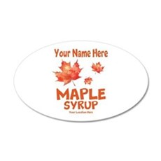 Your Maple Syrup Wall Decal