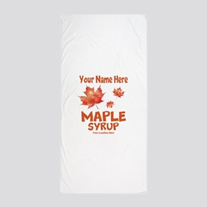 Your Maple Syrup Beach Towel