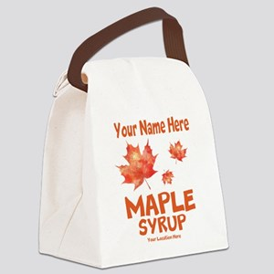 Your Maple Syrup Canvas Lunch Bag