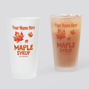 Your Maple Syrup Drinking Glass