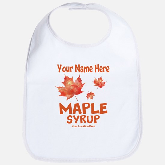 Your Maple Syrup Bib