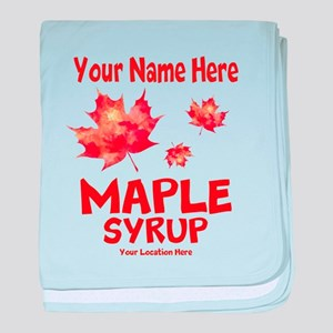 Your Maple Syrup baby blanket