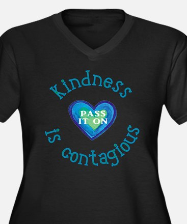 Kindness is Contagious Plus Size T-Shirt
