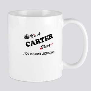 CARTER thing, you wouldn't understand Mugs