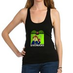 Barsnucks Coffee - That's the ticket! Racerback Ta