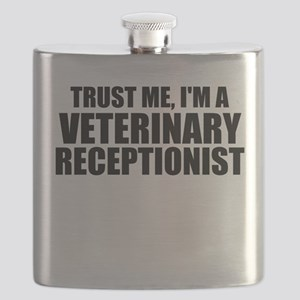 Trust Me, I'm A Veterinary Receptionist Flask