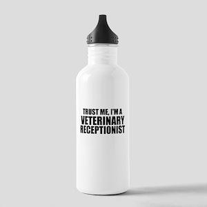 Trust Me, I'm A Veterinary Receptionist Water Bott