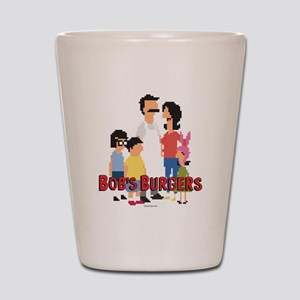 Bob's Burgers 8Bit Shot Glass