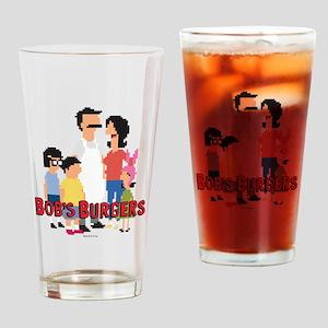 Bob's Burgers 8Bit Drinking Glass