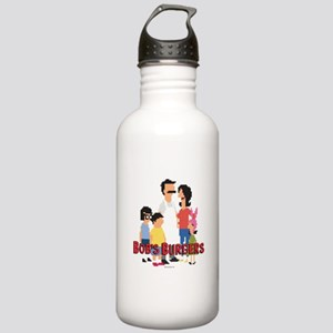 Bob's Burgers 8Bit Stainless Water Bottle 1.0L