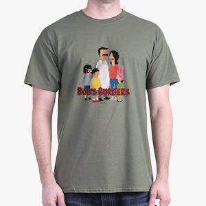 Bob's Burgers 8Bit Dark T-Shirt