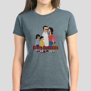Bob's Burgers 8Bit Women's Dark T-Shirt