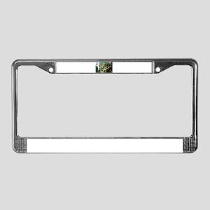 Fleeting gnome License Plate Frame