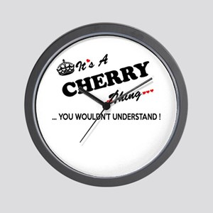 CHERRY thing, you wouldn't understand Wall Clock