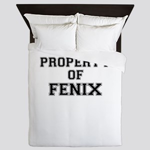 Property of FENIX Queen Duvet