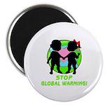 "Stop Global Warming 2.25"" Magnet (100 pack)"
