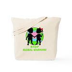 Stop Global Warming Tote Bag