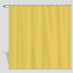 Quilt Gold Shower Curtain