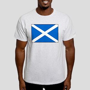 Scottish Flag Ash Grey T-Shirt