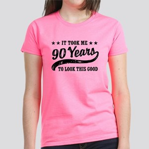 90th Birthday Womens T Shirts