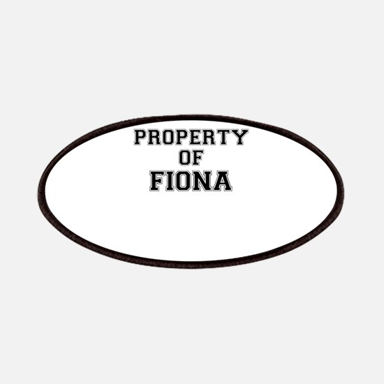Property of FIONA Patch