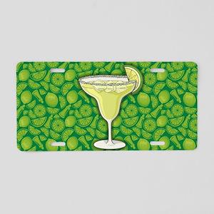 Margarita cocktail Aluminum License Plate