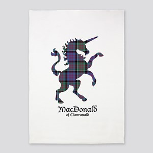 Unicorn-MacDonaldClanranald 5'x7'Area Rug
