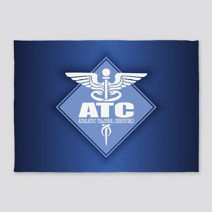 Athletic Trainer Certified 5'x7'Area Rug
