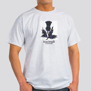Thistle-MacDonald of Clanranald Light T-Shirt