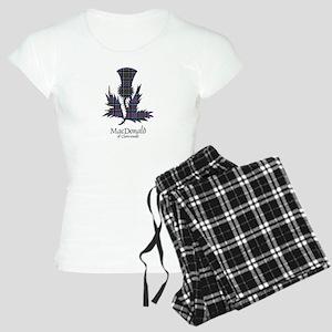 Thistle-MacDonald of Clanra Women's Light Pajamas