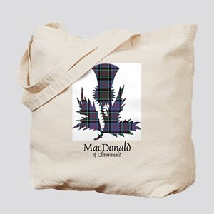 Thistle-MacDonald of Clanranald Tote Bag