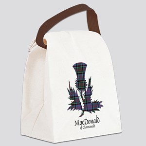 Thistle-MacDonald of Clanranald Canvas Lunch Bag