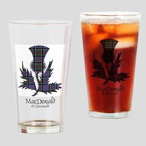 Thistle-MacDonald of Clanranald Drinking Glass