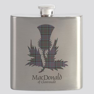 Thistle-MacDonald of Clanranald Flask