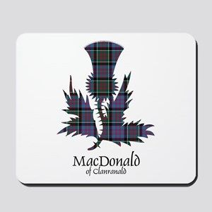 Thistle-MacDonald of Clanranald Mousepad