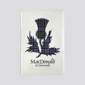 Thistle-MacDonald of Clanranald Rectangle Magnet